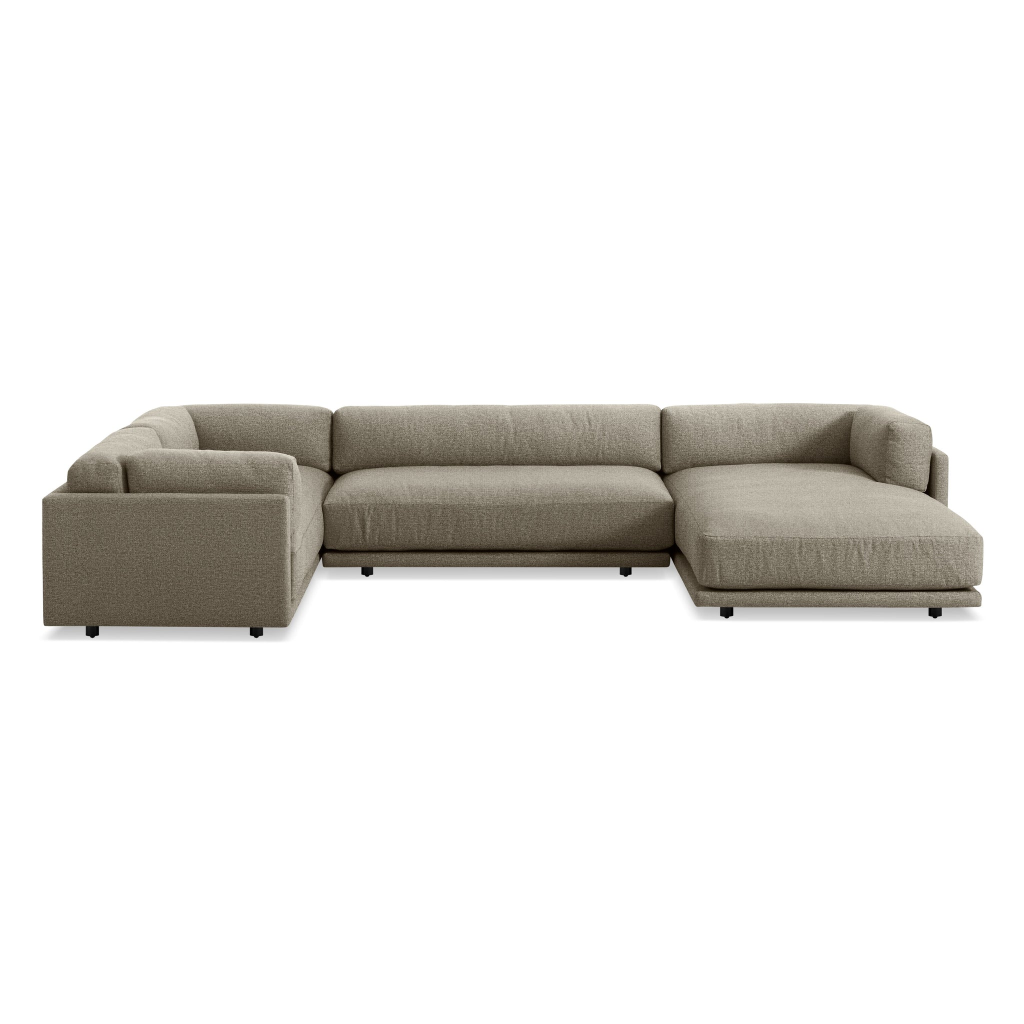 Sunday L Sectional Sofa w/ Right Arm Chaise