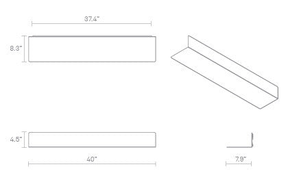 Welf large wall shelf area welf large wall shelf ccuart Image collections