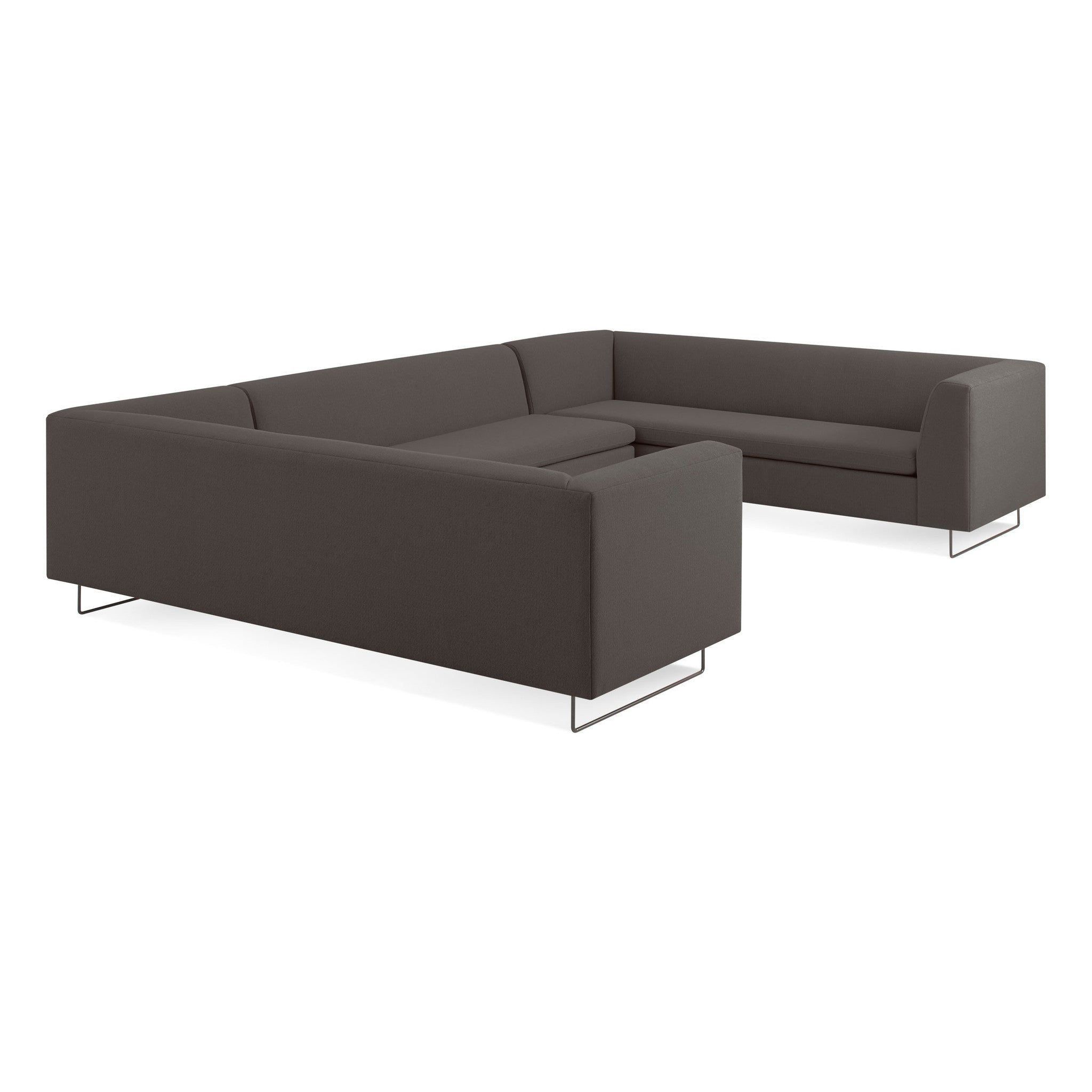 Bonnie and Clyde U Shaped Sectional Sofa Area Furniture for