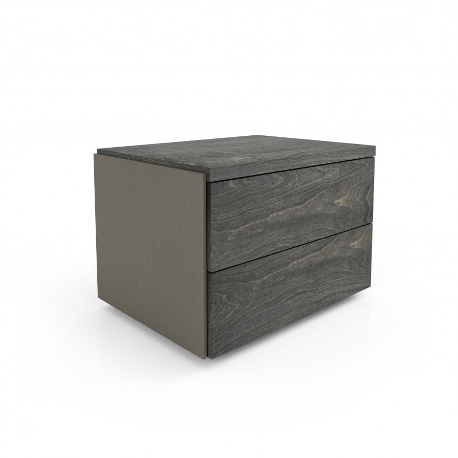 Sereno 2 Drawer Wide Nightstand