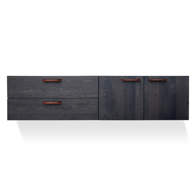 Shale 2 Door / 2 Drawer Wall Mounted Cabinet