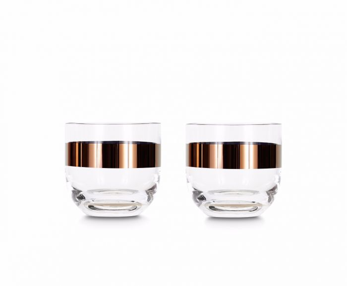 Tank Whiskey Glass S/2