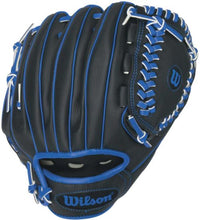 Load image into Gallery viewer, Wilson Ball Glove A200 Blue 10""