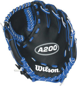 Wilson Ball Glove A200 Blue 10""