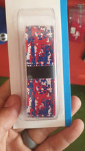 Load image into Gallery viewer, Champro Bat Grip Tape Red/White/Blue Dotted