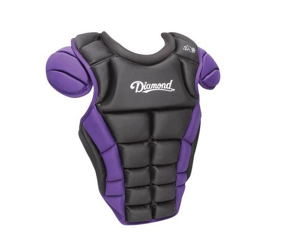 Diamond Chest Protector IX5 Large Black/Purple