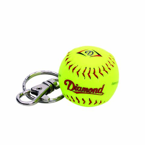Diamond Keychain Ball Yellow