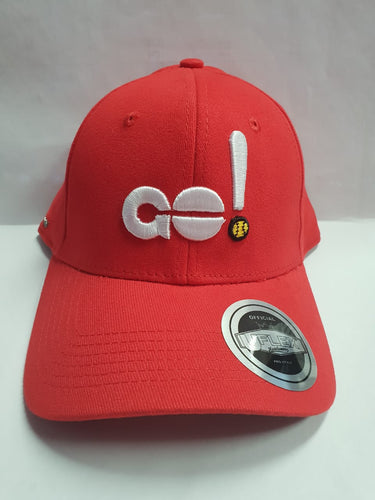 GO! Hat Red S/M Softball