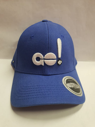 GO! Hat Royal Blue Large Baseball