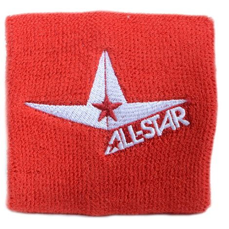 All Star Wristband Short Scarlet