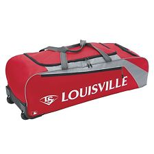 Louisville Slugger Bag Wheeled Series 3 Red