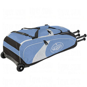 Louisville Slugger Bag Wheeled Series 5 Rig Columbia Blue