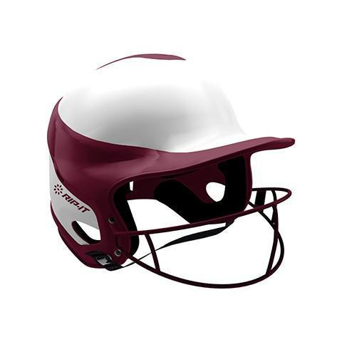 Rip-It Batting Helmet Vision Pro L/XL Maroon