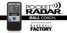 Load image into Gallery viewer, Pocket Radar Ball Coach