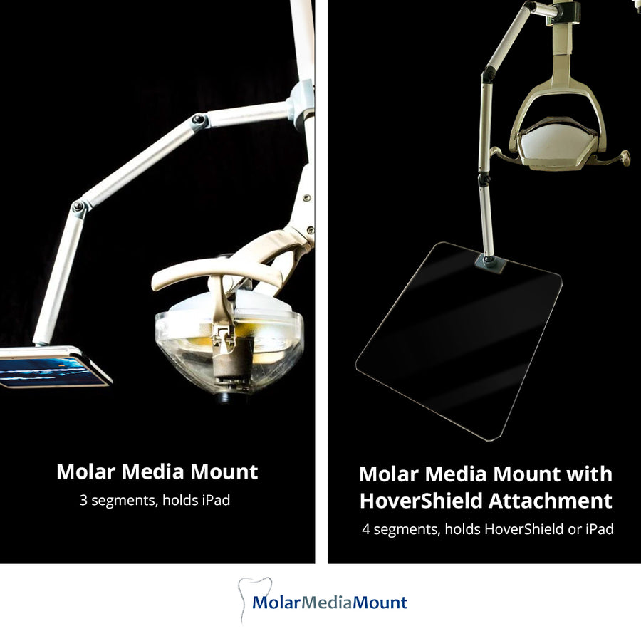 Molar Media Mount w/ HoverShield Attachment