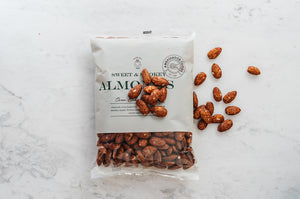Oven Baked Sweet & Smokey Almonds 500g