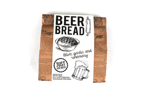 Beer Bread Bag - Rosemary Olive & Garlic 500g