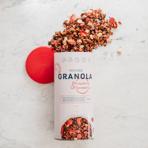 INFUSED GRANOLA - Strawberry & Macadamia 500g