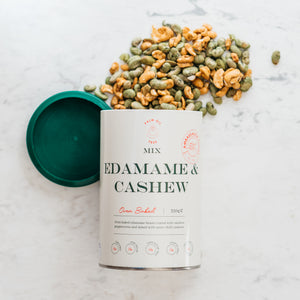 Sweet and Spicy Edamame & Cashew Mix 350g