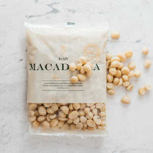 Raw Macadamia nuts 400g