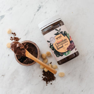 Vegan Chocolate Macadamia Spread – Crunchy 400g