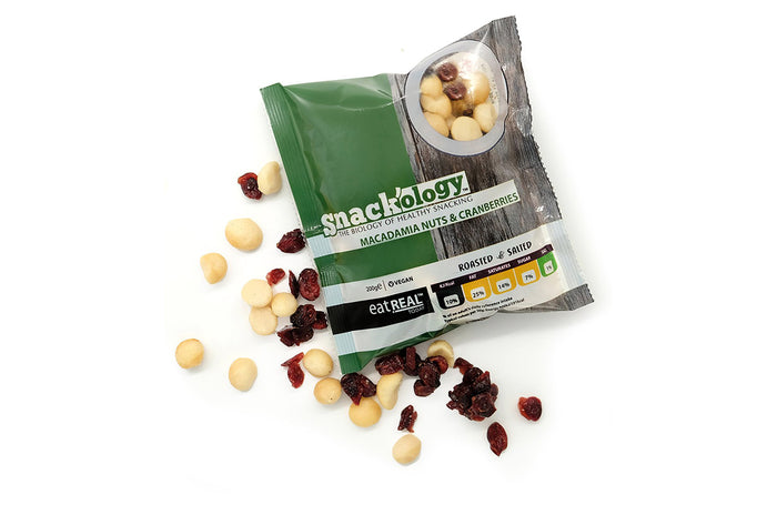 Roasted & Salted Macadamia & Cranberries 200g