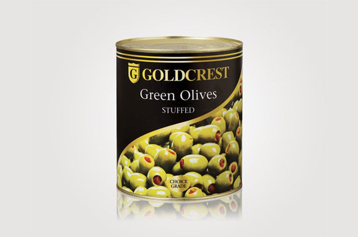 Olives Green Stuffed/Whole 2.95kg