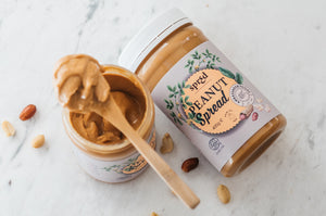 Organic peanut spread (Smooth) 400g