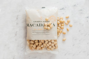 Oven Baked Macadamias – Lightly Salted 400g