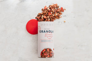 Strawberry & Macadamia Infused Granola 500g