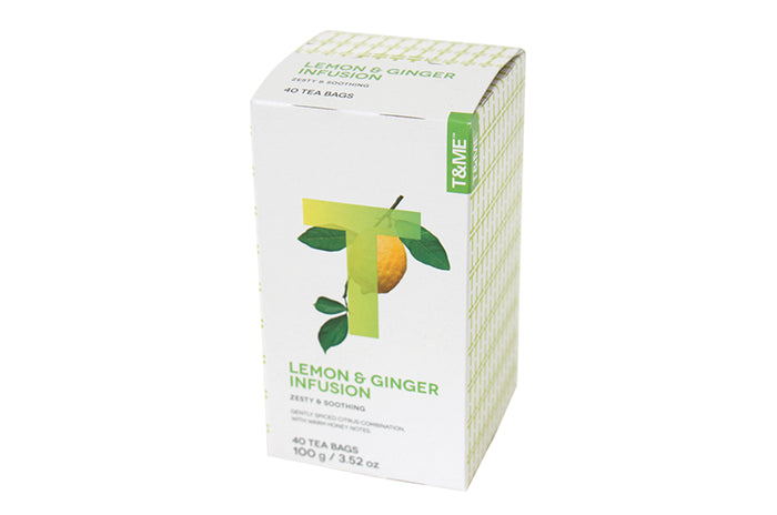 Lemon Honey Ginger Infusion Tea 40's (100g)