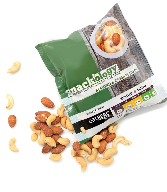 Roasted & Salted Cashew & Almond 200g
