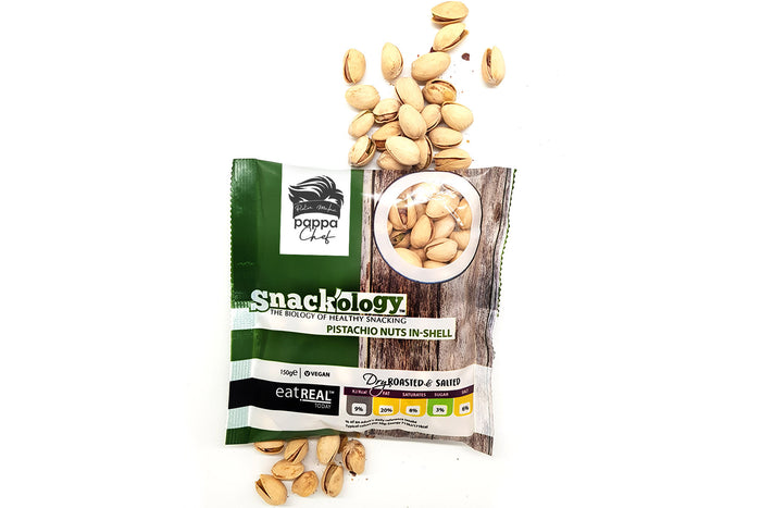 Oven Baked & Salted Pistachios 150g