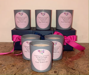 English Pear & Freesia Mother's Day Candle