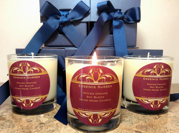 Spiced Orange-Perfect winter fragrance.