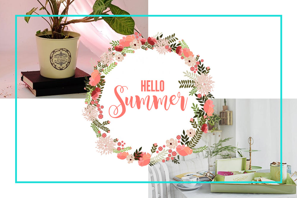 SIMPLE SUMMER DECORATING IDEAS
