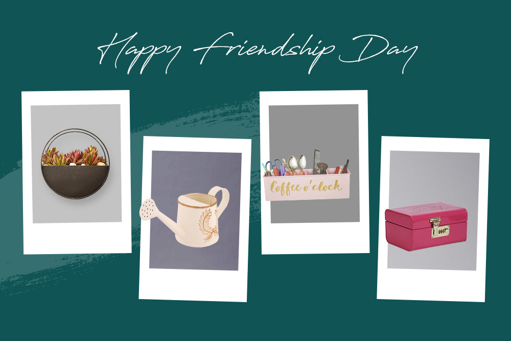 THIS FRIENDSHIP'S DAY, SURPRISE YOUR SPECIAL FRIEND WITH THESE QUIRKY AND COOL GIFTING IDEAS