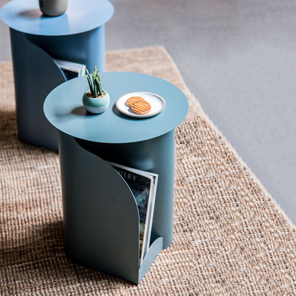 Elan Capire End Table with In-Built Magazine Holder