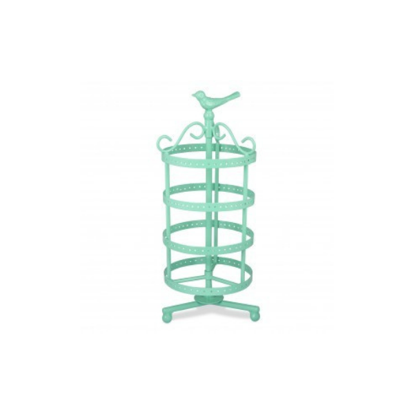 Elan Tweet Rotating Earring Stand (Aqua)