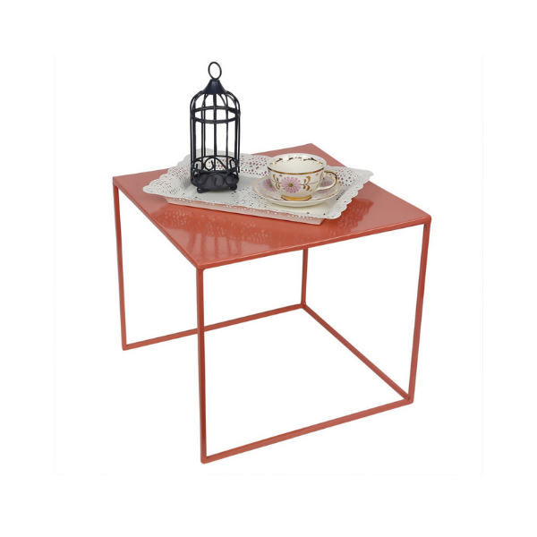 Elan Nested Side Tables, Set Of 2 (Cube, Blush)