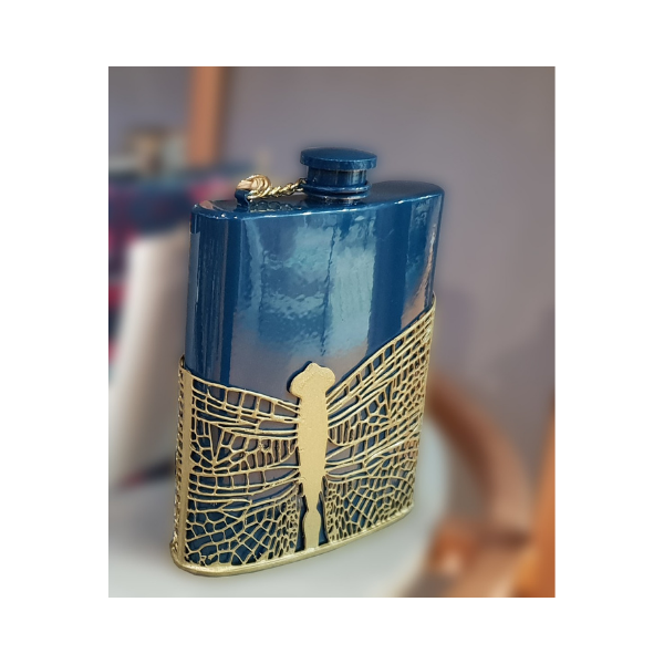 The Ethereal Dragon Fly Hip Flask