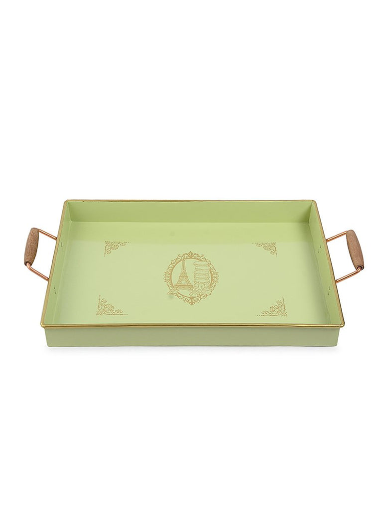 Elan Paris Rectangle Serving Tray, Pistachio Green