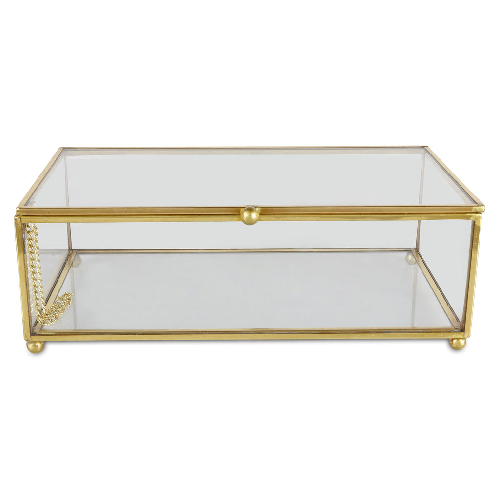 Elan Glass Jewelry Box