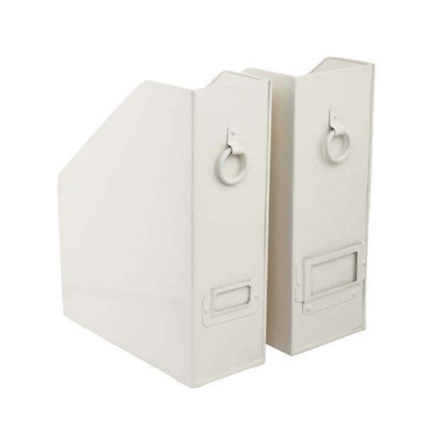 Elan Method File & Magazine Holder, Set of 2