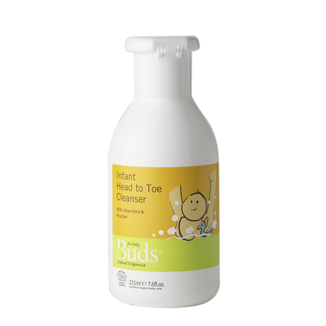 Buds Organics Infant Head To Toe Cleanser 225ml