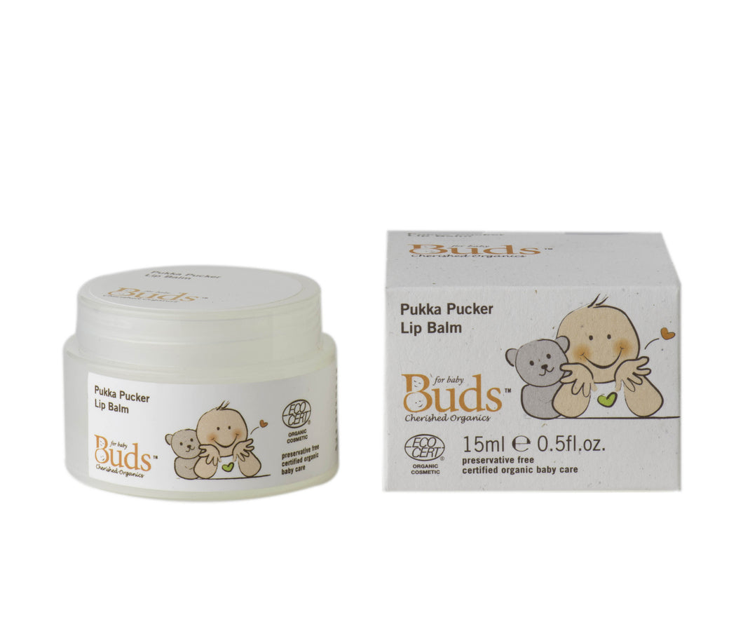 Buds Cherished Pukka Pucker Lip Balm 15ml