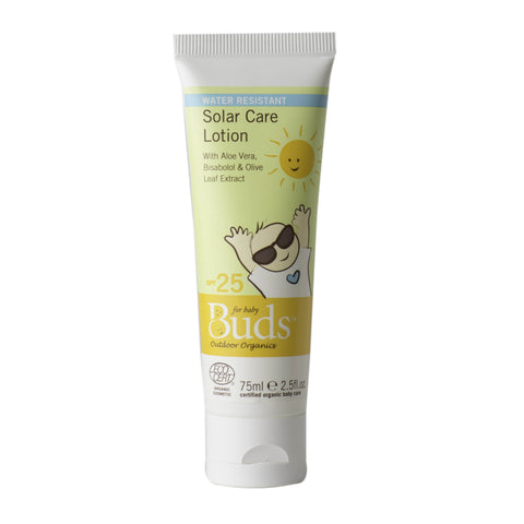 Buds Organics Solar Care Lotion 75ml