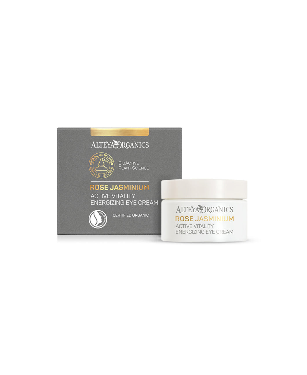 Alteya Organics - Rose Jasminium Active Vitality Engergizing Eye Cream 15ml