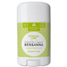 Load image into Gallery viewer, Ben & Anna Natural Soda Deodorant - Persian Lime 60g