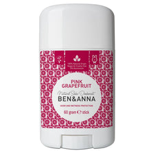 Load image into Gallery viewer, Ben & Anna Natural Soda Deodorant - Pink Grapefruit 60g